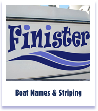 Boat names - Graphics and Striping