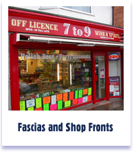 Fascias &amp: Shopfronts