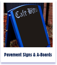 Pavement Signs & A-Signs