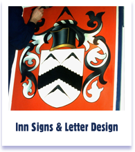 Pictorials Inn Signs, Heraldry and Letter Design