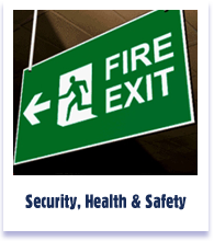 Security Health & Safety Signs