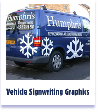 Vehicle Siignwriting Graphics